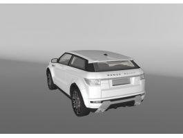 Range Rover Evoque 3d preview