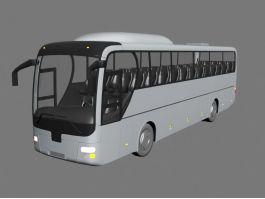 Coach Bus 3d preview