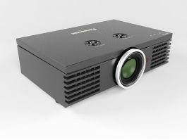 Panasonic Projector 3d preview
