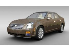 Cadillac CTS 3d preview