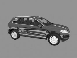 Volkswagen SUV Touareg 3d preview