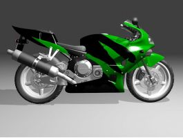 Honda CBR Sport Bike 3d preview