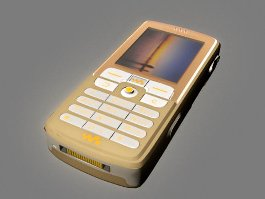 Sony Ericsson W700 3d model preview
