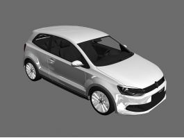 Volkswagen Polo hatchback 3d preview