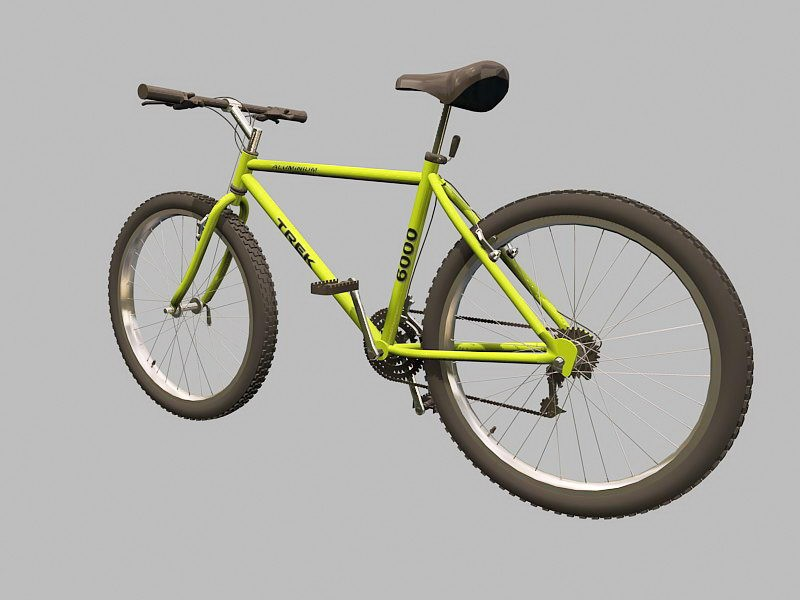 Trek Mountain Bike 3d rendering
