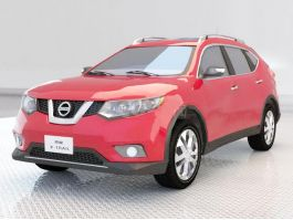Nissan X-Trail 3d preview