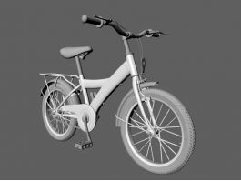 City Bike 3d preview