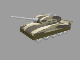Small Army Tank 3d preview