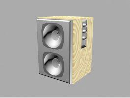 Desktop Loudspeaker 3d preview