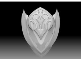 Armor Shield 3d preview