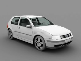 Volkswagen Golf Hatchback 3d preview