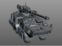 Ground Combat Vehicle 3d preview