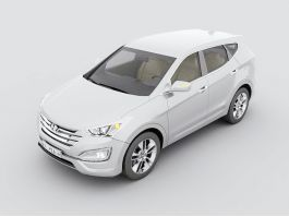 Hyundai Santa Fe SUV 3d preview