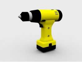 Cordless Drill 3d preview