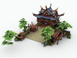 Temple of the City God 3d preview