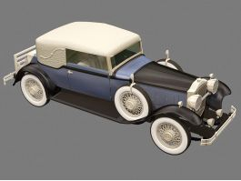 Old Packard Car 3d preview