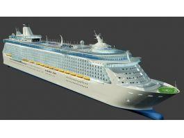 Ocean Liner Ship 3d preview