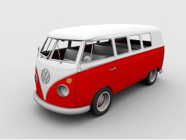 Volkswagen Will Build Microbus 3d preview