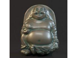 Maitreya Buddha Statue 3d preview
