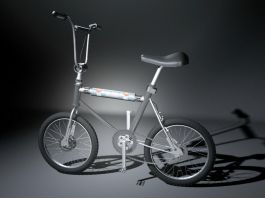 Small Wheel Bicycle 3d preview