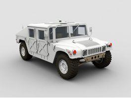 Hummer Humvee 3d preview