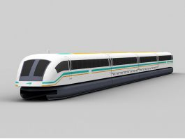 Maglev Train 3d preview