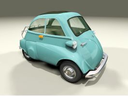 BMW Isetta Microcar 3d preview