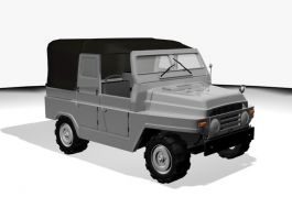 Black Jeep 3d preview