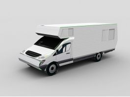 Recreational Vehicle 3d preview