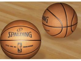 Spalding NBA Basketball 3d preview