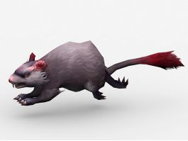 Animated Mouse Monster 3d preview