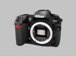 NIKON D200 DSLR Camera 3d preview