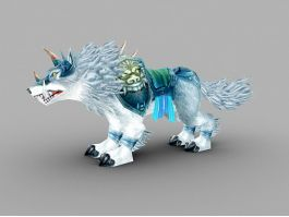 Frostwolf Mount 3d preview