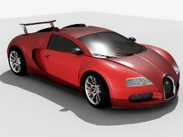Bugatti Veyron Grand Sport Car 3d preview