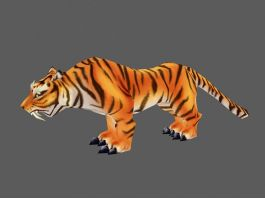 Bengal Tiger 3d preview