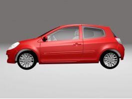 Renault Clio Sport 3d preview