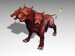 Cerberus Legendary Creature 3d preview