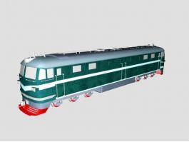 DF Diesel-Electric Locomotive 3d preview