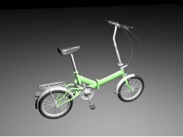 Small Mini Bicycle 3d preview