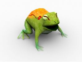 Frog Monster 3d preview
