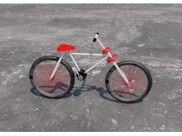 Simple Bike 3d preview
