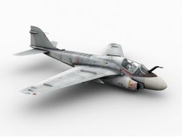 A-6 Intruder Attack Aircraft 3d preview