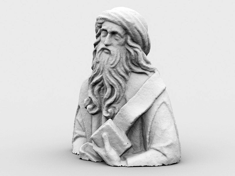 Adam Kraft Sculpture 3d rendering