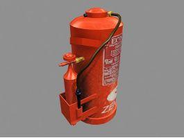 Extintor De Incendio 3d preview