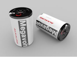 Electric battery 3d preview
