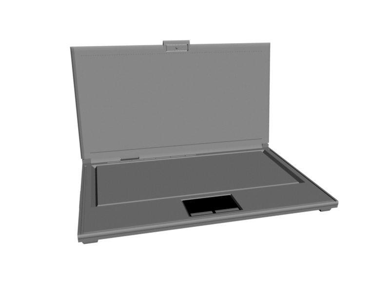 Asus Laptop 3d rendering