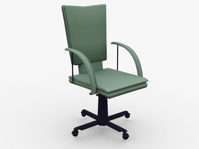 Swivel Desk Chair 3d rendering