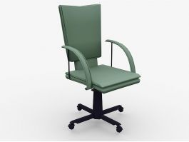 Swivel Desk Chair 3d preview