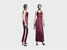 Resident Evil Ada Wong 3d preview