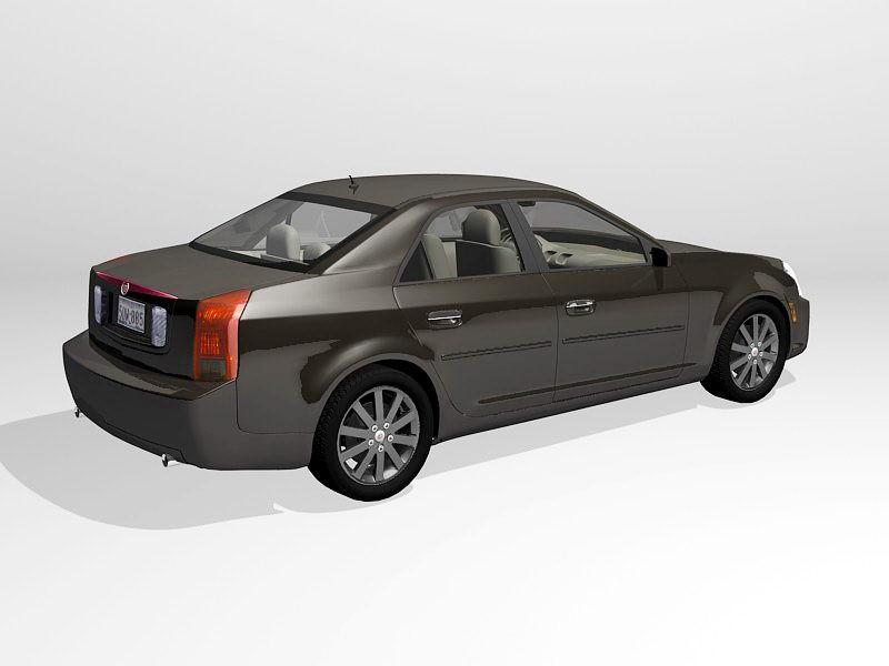 Cadillac CTS-V Sedan 3d rendering